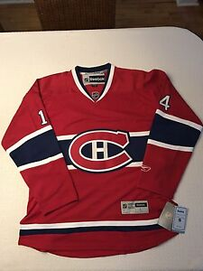 MONTREAL CANADIENS JERSEY AUTOGRAPHED BY TOMAS PLEKANEC