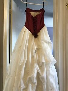 Alfred Angelo bridal dress and matching veil