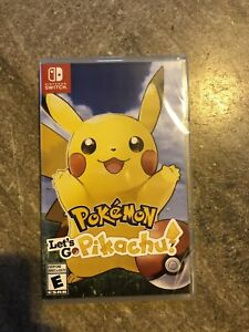 Pokémon Let's Go Pikachu for Nintendo Switch BNIB