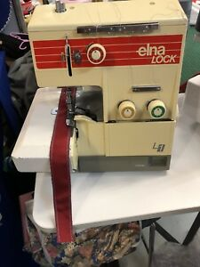 Elna L1 3 thread overlocker Malaga Swan Area Preview