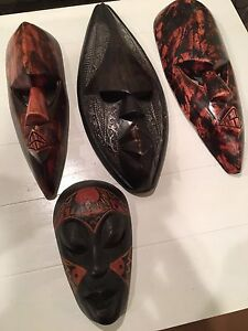 African masks (bundle)