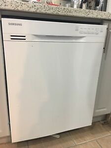 Samsung white dishwasher new!
