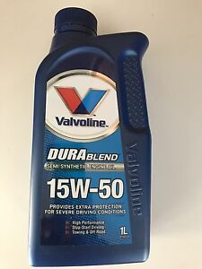 Semi syn 15w-50 engine oil brand new sealed bottle Georges Hall Bankstown Area Preview