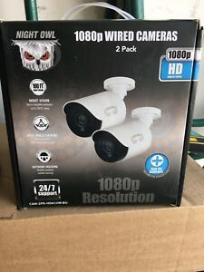 Night Owl 2 Pack Security Cameras