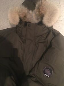 Winter parka - goose down jacket coat men