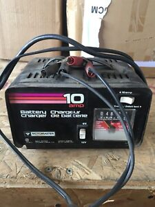 Motomaster 10 amp battery charger