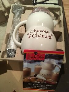 French Cafe Hot Chocolate Maker