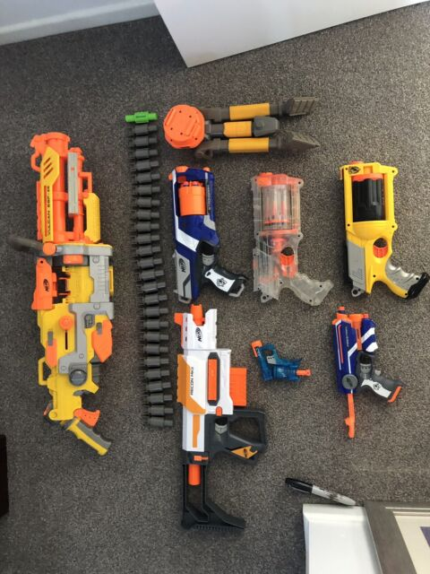 Nerf gun bundle | Toys - Outdoor | Gumtree Australia