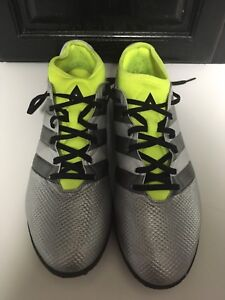Adidas Indoor turf soccer shoes, size 9