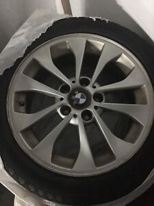 BMW 17 inch wheels and tires