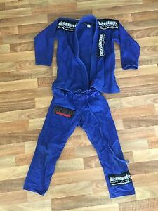 Decimate Gi size A-00 Blue Jiu Jitsu Waikiki Rockingham Area Preview