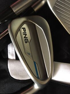 Ping I E1 Irons. Excellent condition 4-pw+GW (swap??)