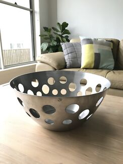Decorative bowl with holes