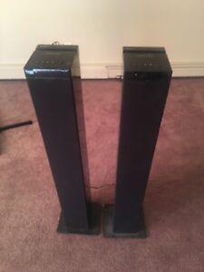 Bluetooth tower speakers
