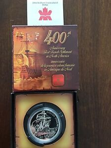 2004 Silver Dollar Commemorative Coin of French Settlement