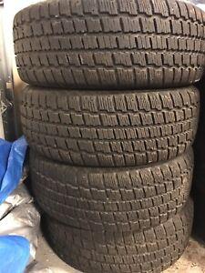 235/55/17 cooper winter tires