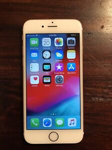 iPhone 6S - 32gb - AppleCare - unlocked - Box - Charger, cable
