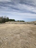Concrete and asphalt dump