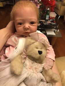 "Reborn Baby Girl 20""Lifelike doll Docklands Melbourne City Preview"