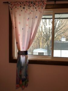 Frozen and ikea curtains