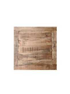SALE! Rustic Square and Round Cafe/Restaurant/Bar Table Tops (Timber)