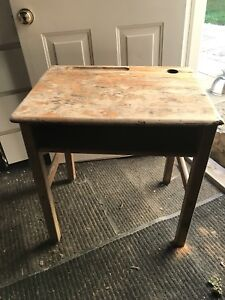 Desk (children's) - Antique