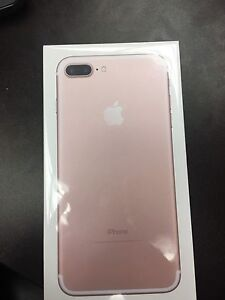 BRAND NEW SEALED IPHONE 7 128GB plus RoseGold (fido,rogers)