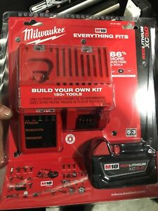 Milwaukee charger and 5.0 battery brand new