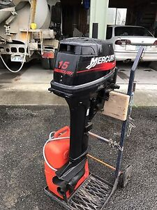 Mercury 15HP Outboard Bridport Dorset Area Preview