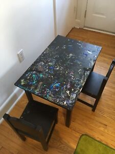 IKEA Sundvik table and chairs