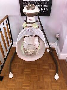 Balançoire bébé