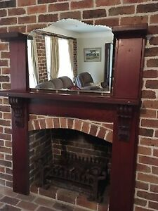 Fire mantle piece Oakville Hawkesbury Area Preview