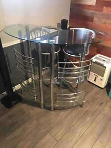 **BAR AND BAR STOOLS FOR SALE**  150 OBO