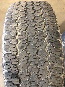 4 pneus Goodyear Wrangler hiver LT275/65R18