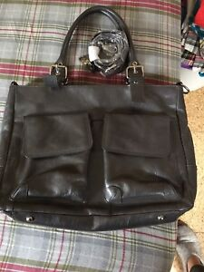 Leather office bag.  Daniel leather bag, only used a few times.