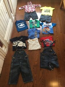 Baby boy clothes lot 9-12M (spring/summer/fall/winter)