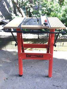 Saw / router folding table