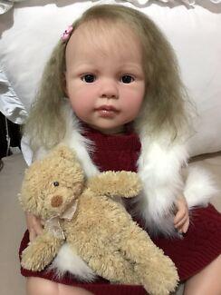 "Reborn toddler 26"" lifelike baby doll"