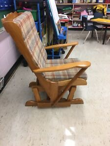 Solid wood rocking chair,
