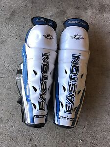 Easton Shin Pads 14""