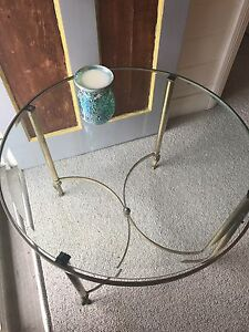 Vintage Retro Brass Coffee or Side Table Uralla Uralla Area Preview