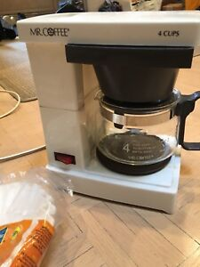 4 cup coffee maker and filters
