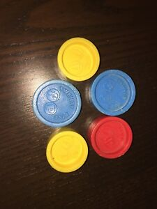 Vintage Fisher-Price Replacement coins