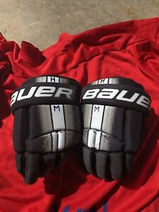 Bauer Supreme Youth Hockey Gloves - small