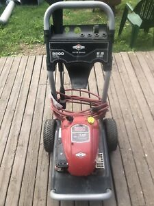Briggs and Stratton Pressure washer.