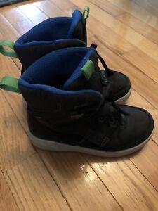 Boy Size 12 Ecco Winter Boots