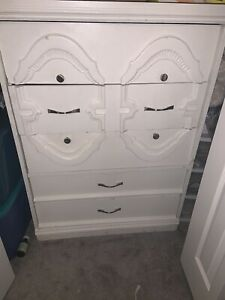 Matching solid wood dressers