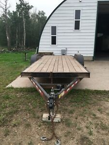 Trailtech trailer with removable sides