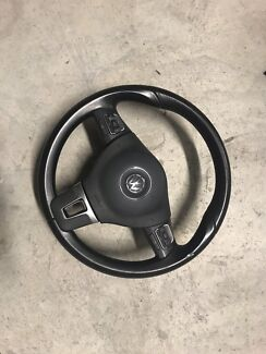 Vw mk6 steering wheel with airbag Burwood Burwood Area Preview