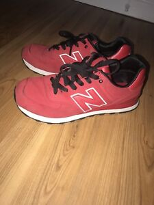 New balance shoes size 9.5 men red